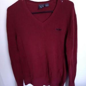 Armani exchange -sweater for men V neck NEGO